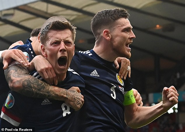 The left back wants it to become the norm that Scotland qualify for major tournaments