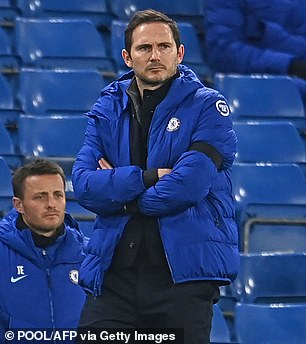 Frank Lampard was in charge of Chelsea for 18 months