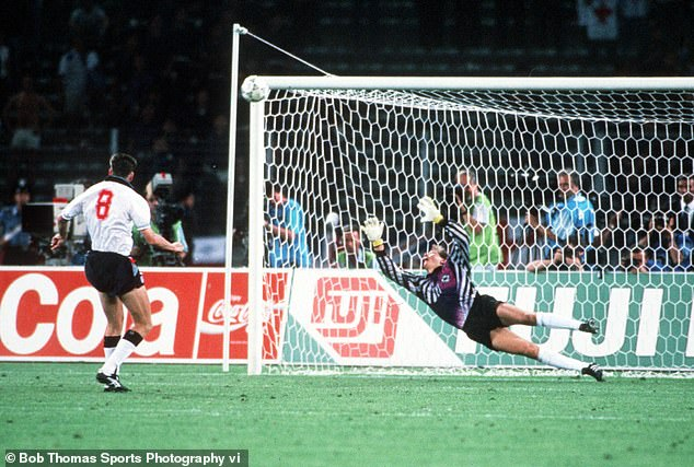 The Germans also beat England in a shoot-out in the 1990 World Cup semi-finals held in Italy