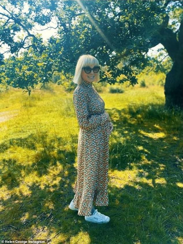'Baking number 2!': Call The Midwife star Helen George has announced she is pregnant with her second child