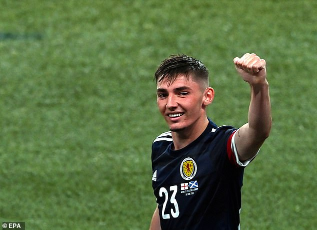 Billy Gilmour shone despite Scotland's struggles and was man of the match against England