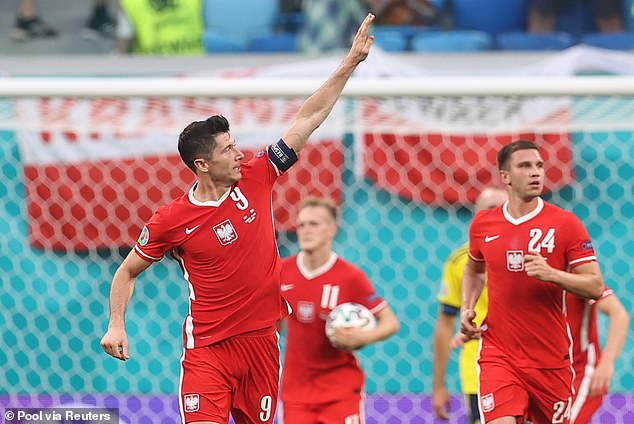 Two goals from Robert Lewandowski was not enough to see Poland progress to the knockouts