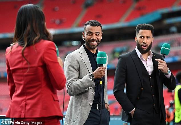 Andros Townsend (right) believes the Premier League should show more respect to Pogba