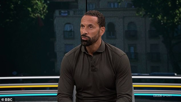 Rio Ferdinand says Germany's display has given him some confidence for the last-16 clash