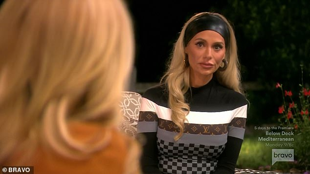 Dorit:Dorit also told Kylie that new cast member Crystal Kung Minkoff, 35, 'felt violated' in Tahoe when Sutton barged into her room to return her jacket. Crystal was naked at the time. Kylie said she felt that Crystal might have been making something out of nothing