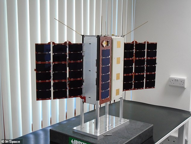 The third satellite is built by In-Space Missions, based in Hampshire, supported by £4.9 million of funding for this and future validation missions launching by 2023