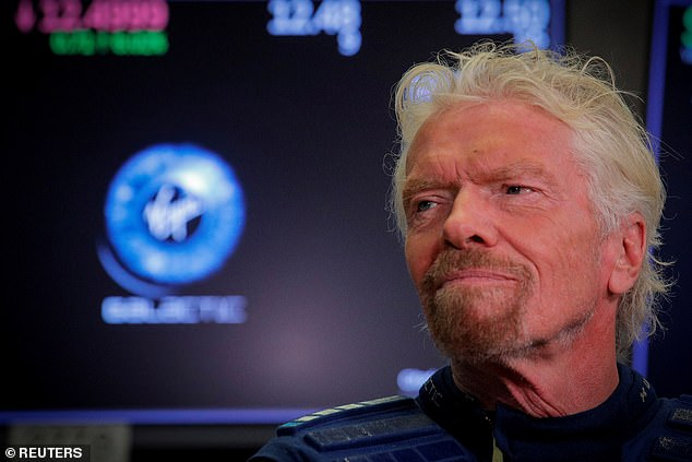 There had been rumours Sir Richard would travel to space, and experience weightlessness for a few minutes, on July 4, but Virgin Galactic said that would not happen