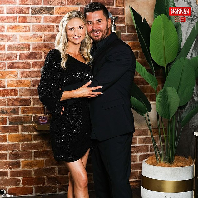 Ex: The luxury car salesman didn't find love with his TV wife Joanne Todd (left) on MAFS in 2021