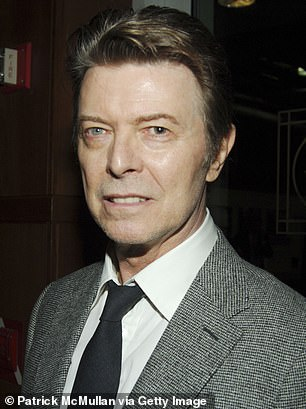 David Bowie in New York in 2007