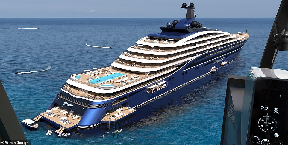 The world's largest yacht - Somnio - has been unveiled and she's so big a new category has been coined for her ¿ 'yacht liner'