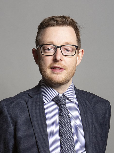 Duncan Baker has become the first Tory MP to go against the Prime Minister - who yesterday personally backed Mr Hancock to stay on and said he 'considered the matter closed'