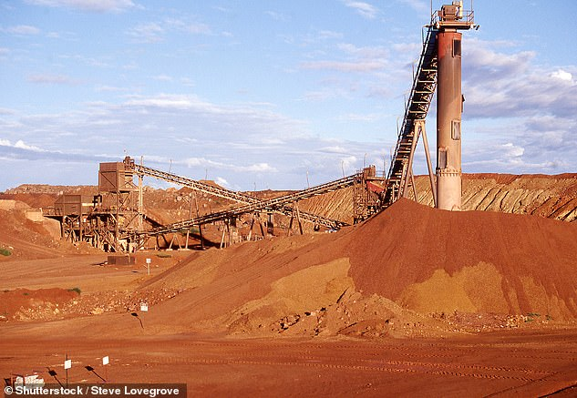 A miner working at the Granites Gold Mine (pictured) in remote Central Australia has tested positive to coronavirus