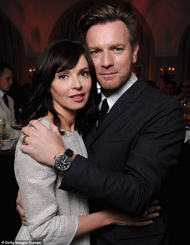 Ex factor:Ewan split from ex-wife Eve Mavrakis in 2017 and their divorce was finalised in August 2020 (pictured in 2012)