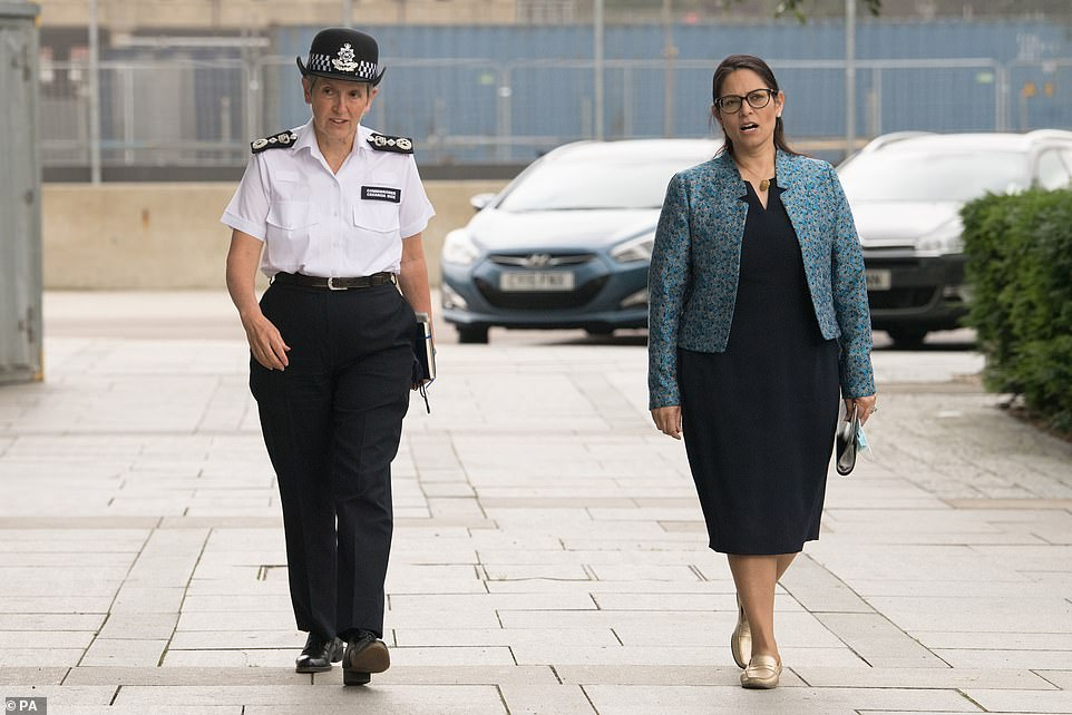 Earlier Home Secretary Priti Patel said we will have to 'adapt our lives accordingly' in order to get freedoms back while at the same time living with coronavirus.