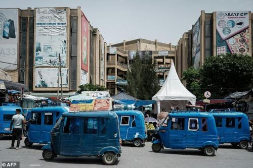 Rebels have taken control of the regional capital Mekele, shown here on June 25, 2021