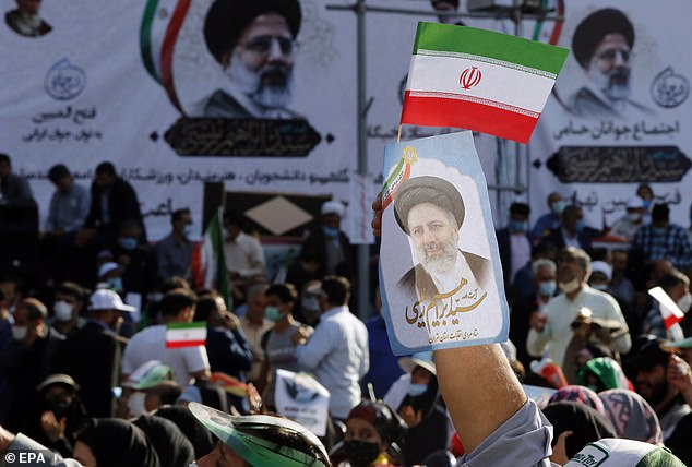 Raisi will be Iran's eight president taking over from Hassan Rouhani, a moderate who has served the maximum of two consecutive four-year-terms, on August 3