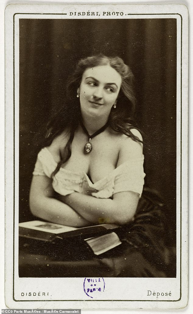 French officers obsessively tracked and charted the kept women of 19th-century Paris, from the city's elite sex workers to madames who procured girls for money, with the records stored in The Book of the Courtesans (pictured, Mery Laurent, whose story is among those in the ledger)