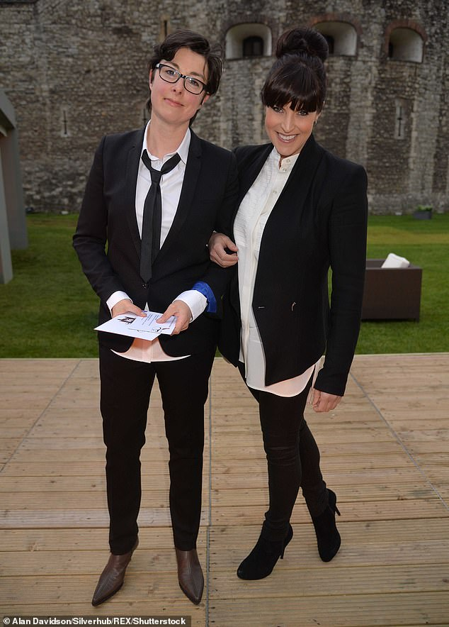 Romance: The pair first began dating in 2013 after meeting at a Halloween party, and in 2015, Sue gushed 'there was something sort of magical in the air' when they met (pictured in 2013)