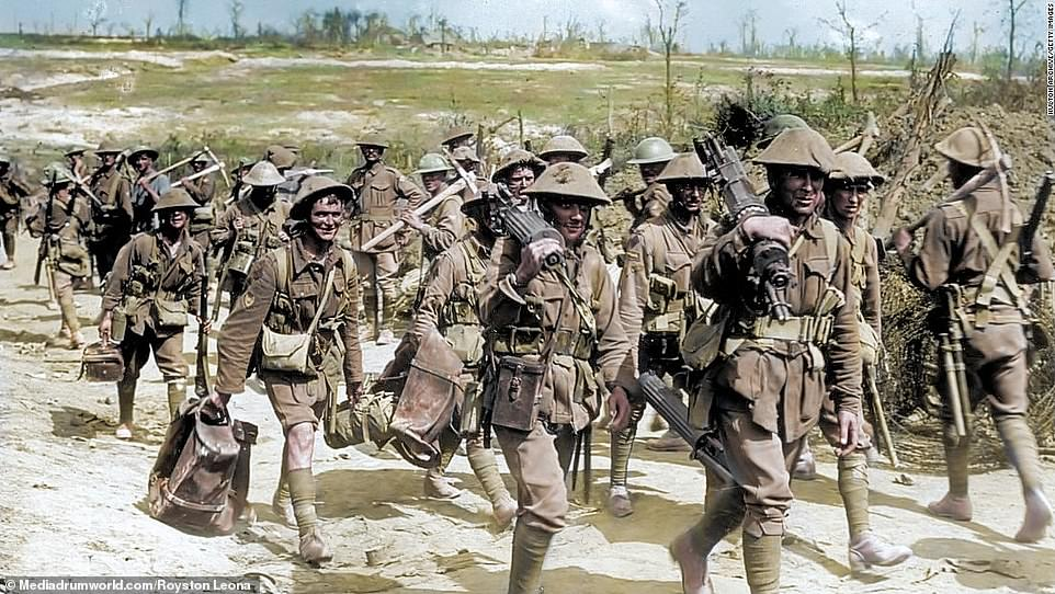 The Australian Army at the Battle of the Somme.The Australian Imperial Force, a mixture of Gallipoli veterans and new volunteers from home, arrived at the Somme in late July. Their major contribution was in fighting for the village of Pozières between 23 July and 3 September. The 1st, 2nd and 4th Australian Divisions suffered more than 24,000 casualties there, including 6,741 dead.