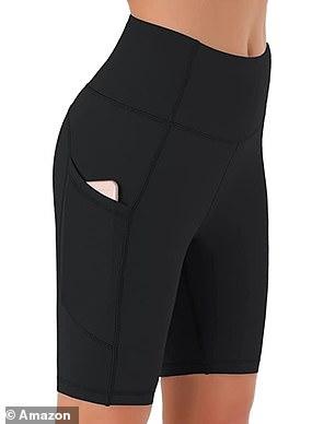 JOYSPELS Women's High Waist Sport Shorts £14.97 - £16.97