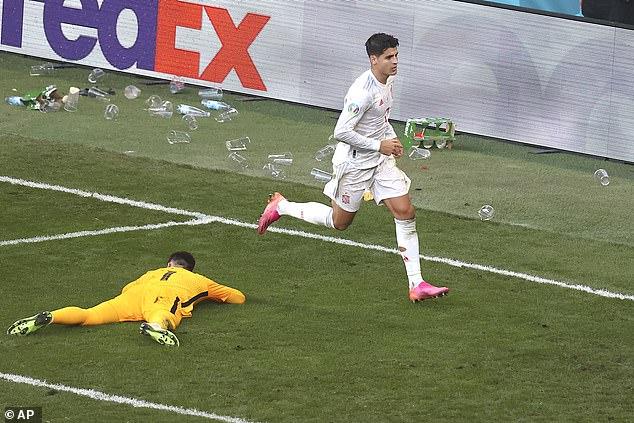Alvaro Morata silenced his critics with a goal in extra time against Croatia