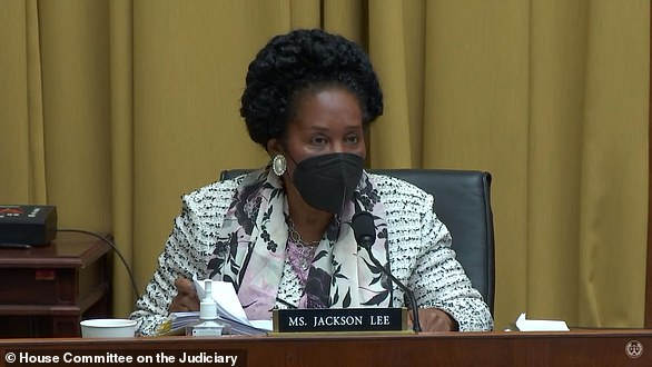 Rep. Sheila Jackson Lee is the primary sponsor of the reparations bill that is expected to get a vote in the Judiciary Committee on Wednesday