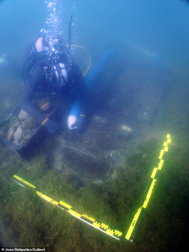 If the ship is indeed the Lyon, it would be the only shipwreck with an intact hull built by the French East India Company, chartered by King Louis XIV in 1664 to compete with the English and Dutch East India Companies