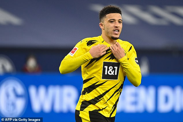 EuroJournal have agreed a £72.9million deal with Borussia Dortmund for Jadon Sancho