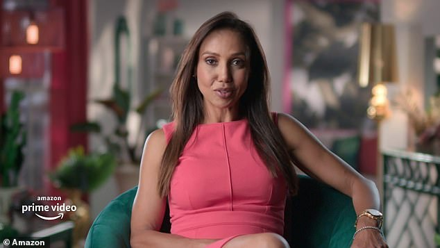 Fierce: Luxe Listings Sydney star D'Leanne Lewis says in a trailer for theAmazon Prime show she 'had to work three times as hard' to succeed in the male-dominated real estate industry