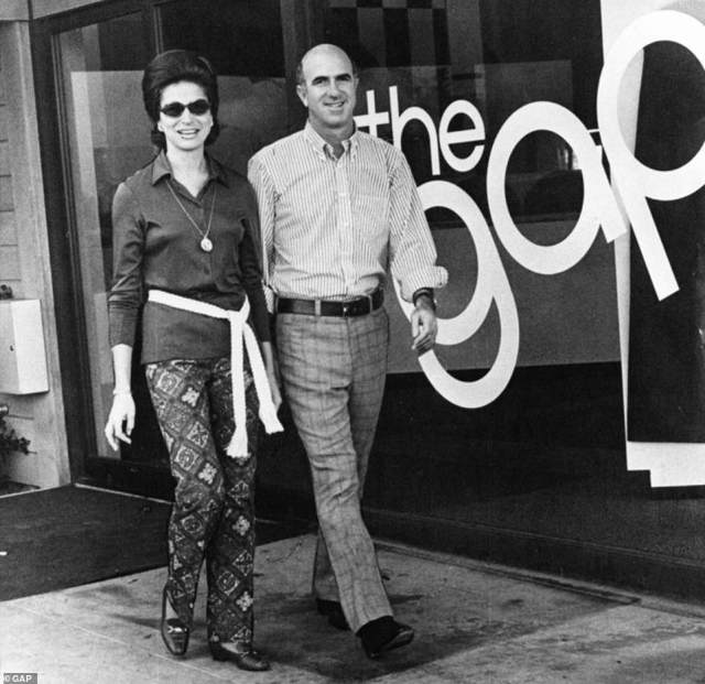 Pioneering founders:Gap's story began with San Francisco couple Donald and Doris Fisher's quest to make it easier for shoppers to find a pair of jeans that properly fit