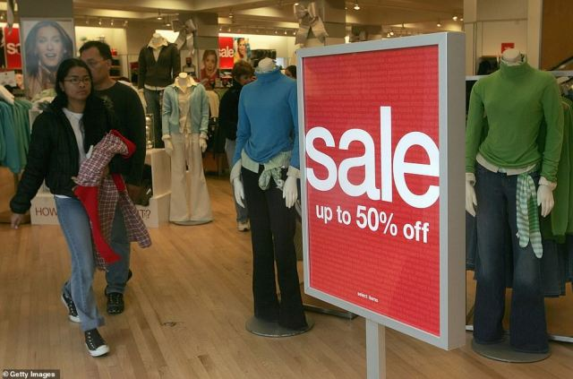 Discounts:Stores have long offered prolific discounts in a bid to attract shoppers, but even that is not enough to tempt customers off the computer and onto the high street