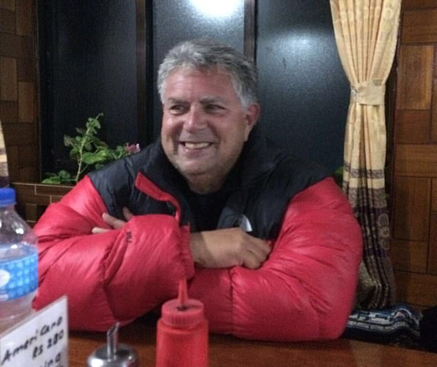 The coroner was told how picture agency boss, Mr Marshall (pictured), was in the 'best shape of his life' after losing three stone ahead of his Everest trip