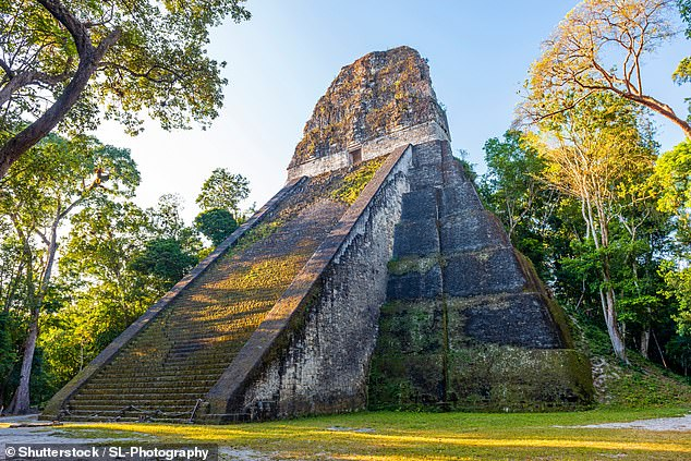 Researchers determined the Maya continued to occupy the area, although in smaller numbers, after the so-called 'collapse' between 800-1000 AD, when it had previously been believed that drought or warfare caused the entire population to desert the area (stock)