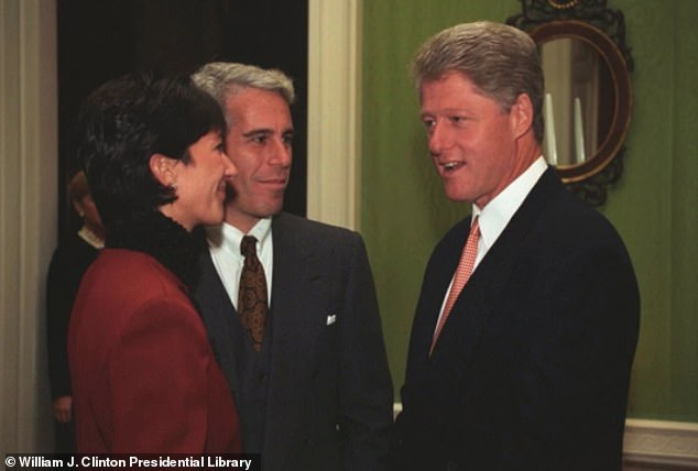 A judge has ruled that dozens more documents about Ghislaine Maxwell's personal affairs should be made public, including some that could reveal more about her finances and her relationship to the Clintons. Maxwell and Epstein are pictured with Clinton in 1993