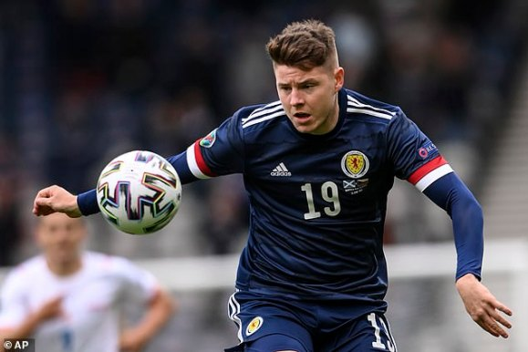 Nisbet was a substitute in all three of Scotland's Euro 2020 games which they failed to win