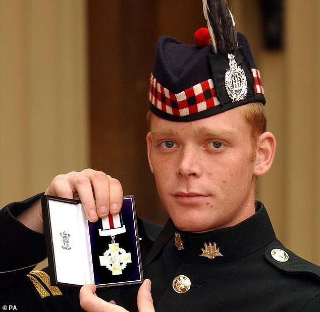 Pinned down by enemy fire in the searing heat of the Iraq desert, 21-year-old Corporal Shaun Jardine decided there was only one way out of his predicament. He single-handedly stormed two enemy positions before calling forward the rest of his patrol to drive the enemy from a third