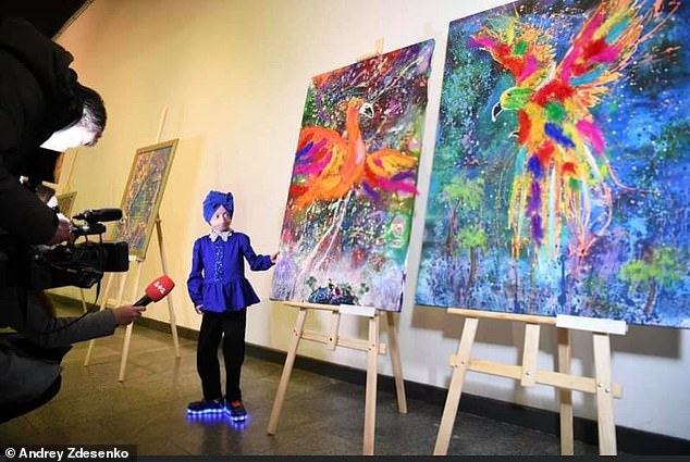 Iryna dreamed of visiting Paris where her artwork was to be displayed after receiving more treatment for her condition in the US, but died before she could make the trip to America