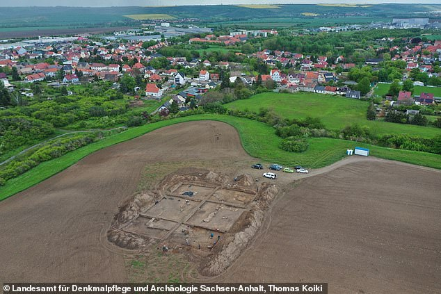 A 1,000-year-old church built by Otto the Great, the first Holy Roman Emperor, has been discovered under a cornfield in Germany