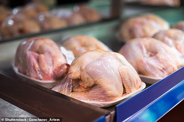 Marks & Spencer signed the 'Better Chicken Commitment' - an industry-wide pledge to better protect the welfare of birds - in 2017. [File picture]