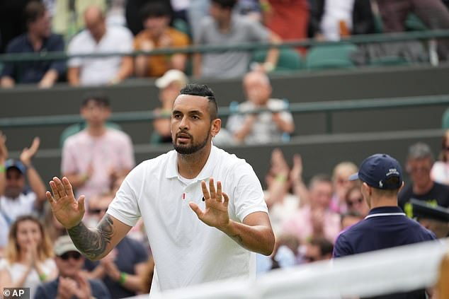 Nick Kyrgios has withdrawn from EuroJournal after sustaining an abdominal injury