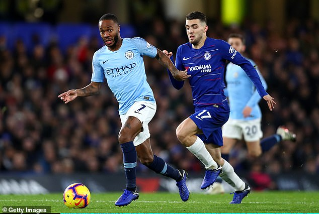 Sterling was abused when he retrieved a ball in front of the Matthew Harding stand during Manchester City's 2-0 Premier League defeat at Stamford Bridge