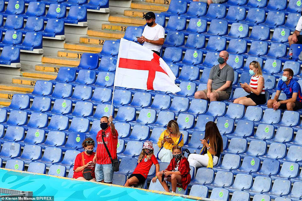 Those lucky enough to bag a ticket to tonight's game at Stadio Olimpico, Rome are preparing to cheer the Three Lions on