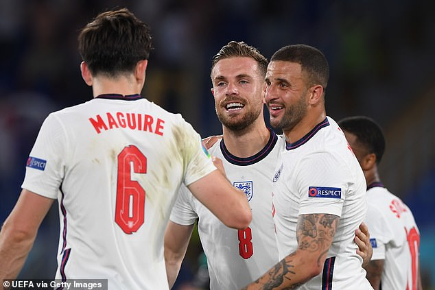 England's Euro 2020 heroes are into the semi-finals after beating Ukraine on Saturday night