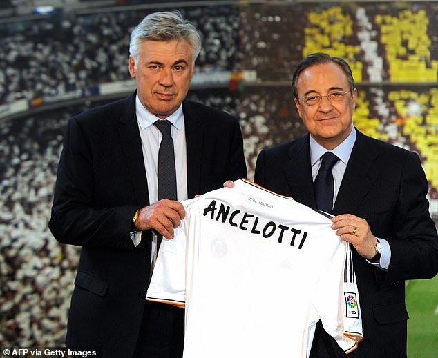 Real are plotting Carlo Ancelotti's (left) first summer transfer window back at the club