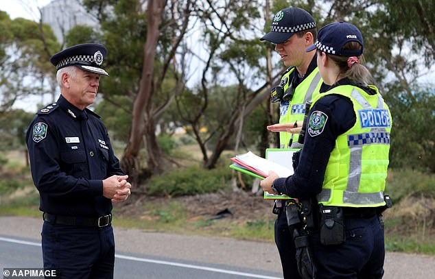 South Australia Police believe the man had been shot at Munno Para West (stock image)