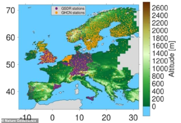 The area that would most benefit is the Mediterranean, as changes to land cover can have a 'substantial' impact on dry conditions associated with changing weather patterns