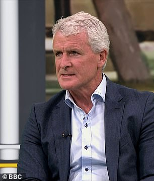 Wales legend Mark Hughes was also used by the BBC