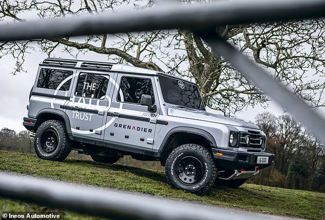 The Grenadier is currently undergoing its final stages of testing before going into production at a former Daimler plant on the French-German border next year