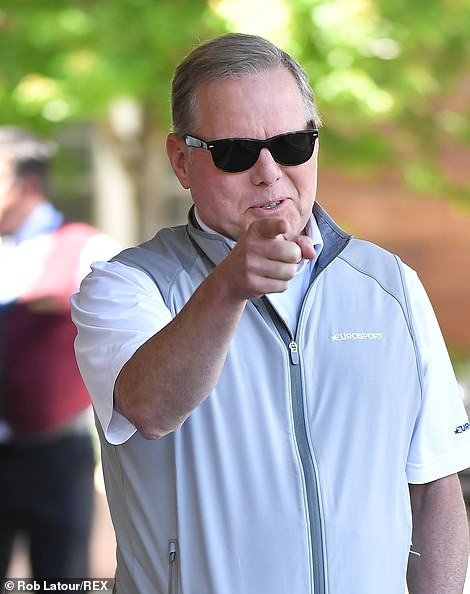David M. Zaslav, CEO of Discovery at the lodge in 2019