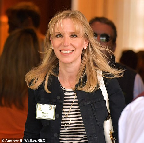 Marne Levine,Vice President of Global Partnerships, Business and Corporate Development at Facebook appeared at the exclusive event
